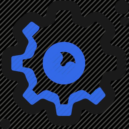 configuration, controller, gear, setup icon