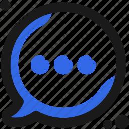 bubble, chat, communication, conversation, message, writing icon