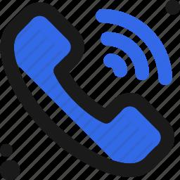 call, conversation, phone, ring, signal icon