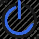 configuration, controller, on, power, setup icon