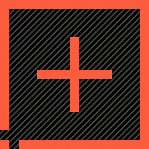 add, addition, button, increase, new, plus, sign icon