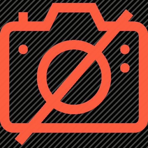 ban, camera, disabled, forbidden, no, photo, taboo icon