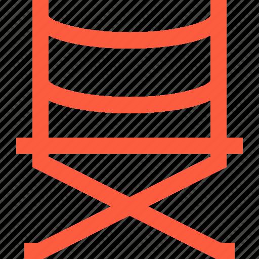 chair, director, directors, equipment, film, movie, portfolio icon