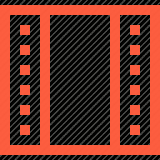 camera, film, frame, movie, reel, roll, tape icon