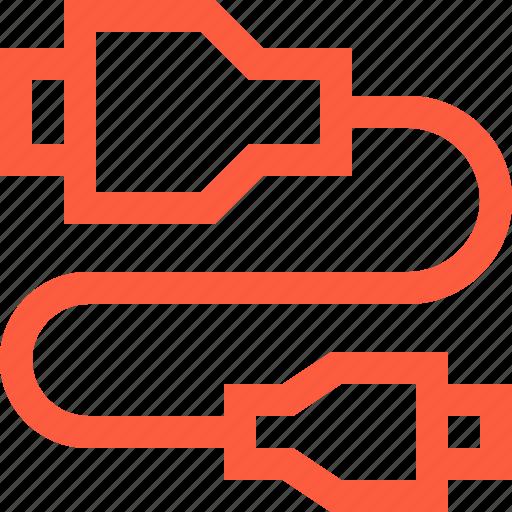 cable, camera, connect, hdmi, multimedia, synchronization, usb icon