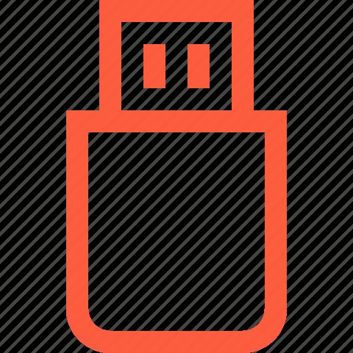 drive, flash, memory, multimedia, plug, usb icon