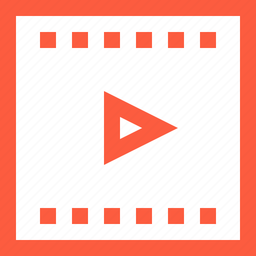 clip, movie, play, playlist, reel, video icon