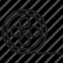 film, multimedia icon