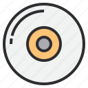 cd, compact, disk icon