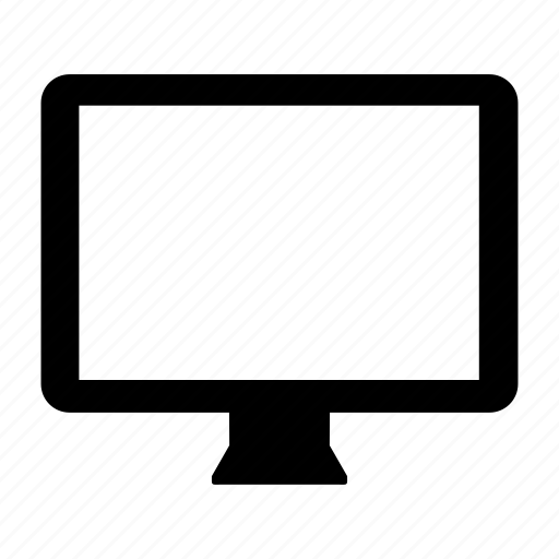 monitor, multimedia, pc, screen, technology, television icon