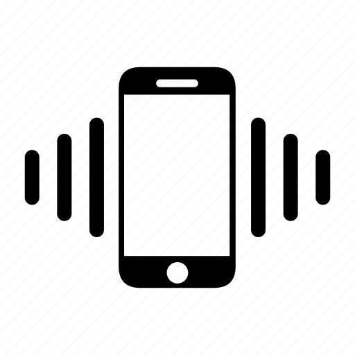 alert, mobile, multimedia, phone, ringtone, tone, vibration icon