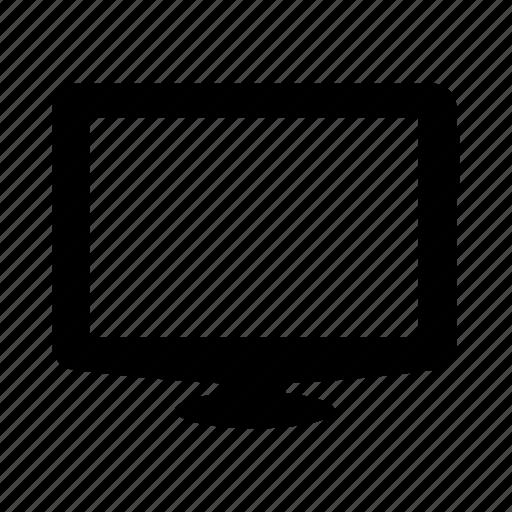 computer, multimedia, screen, television, tv icon
