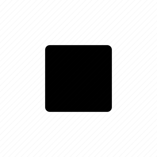 movie, multimedia, music, square, stop icon