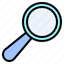 find, glass, lens, magnifier, magnifying, search