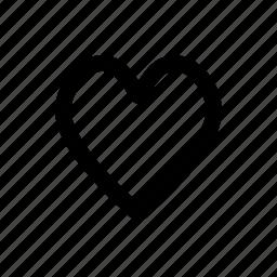 bookmark, favorite, heart, important, love, multimedia, ui icon