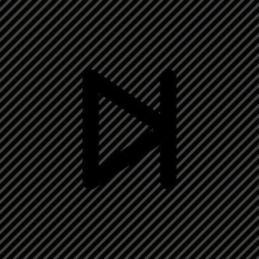 last, multimedia, music, next, track, ui, video icon