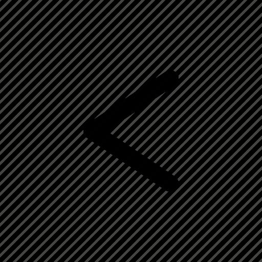 arrow, backward, left, navigation, previous, track, ui icon