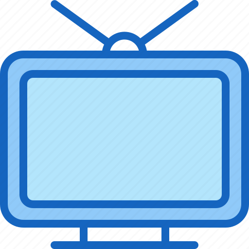 device, entertainment, gadget, multimedia, play, television icon