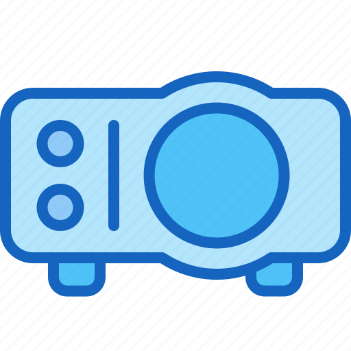 device, entertainment, gadget, multimedia, play, projector icon