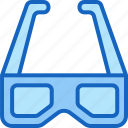 device, entertainment, gadget, glasses, multimedia, play icon