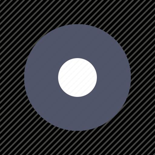 album, circle, media, multimedia, music icon