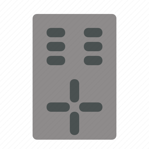 electronic, media, multimedia, remote, tools icon