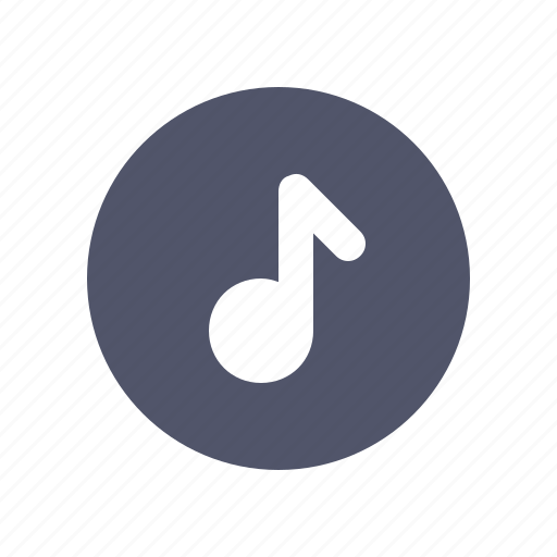 circle, media, multimedia, music, song icon
