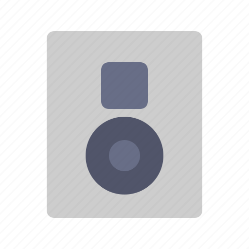 Audio, electronic, multimedia, music, speaker icon - Download on Iconfinder