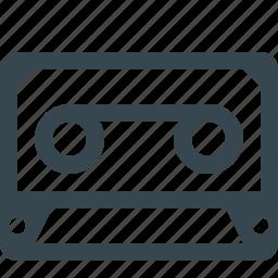 audio, cassette, film, media, multimedia, music, player icon
