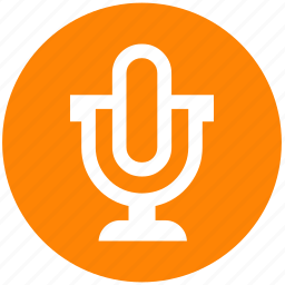 mic, microphone, mike, multimedia, sound, speaker, voice icon