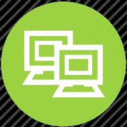 com, computer, desktop, laptop, monitor, multimedia icon