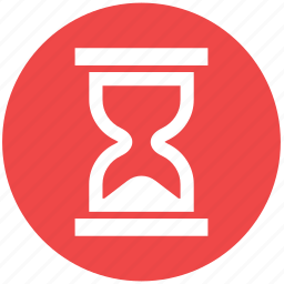 clock, hour clock, hourglass, multimedia, sand, time icon