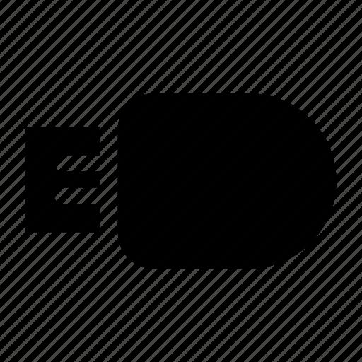 flash, memory, minimalist, pendrive, usb icon
