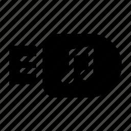 flash, memory, minimalist, music, pendrive, usb icon