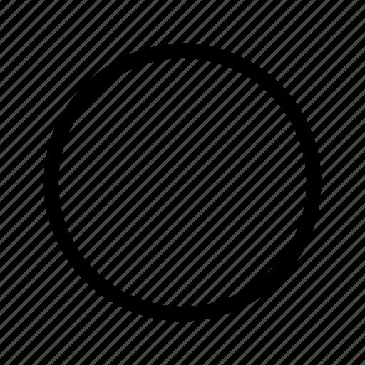 audio, circle, controls, rec, record, track icon