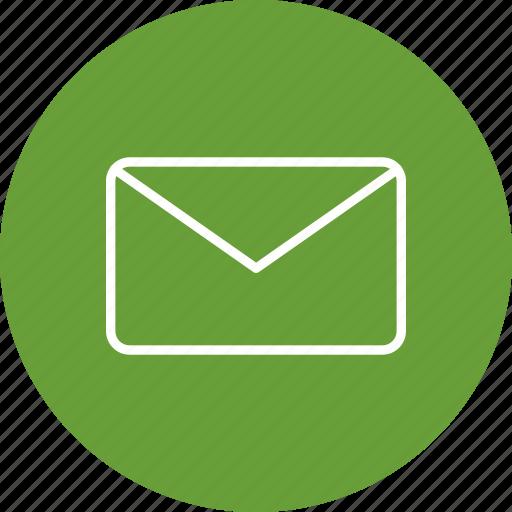 envelope, inbox, message, text icon