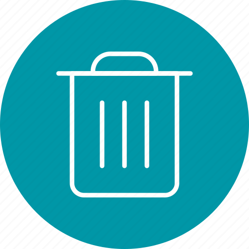 Delete, dust bin, recycle bin icon - Download on Iconfinder