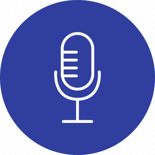 mic, microphone, recording, voice recorder icon