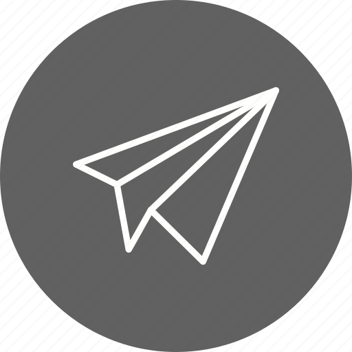 airplane, flight, fun, paper, paper plane icon