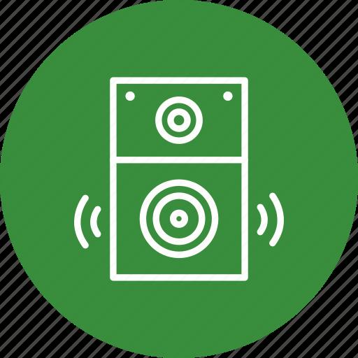 loudspeaker, media, multimedia, music, sound, speaker, volume icon