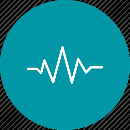 Music, sound beat, sound wave icon - Download on Iconfinder