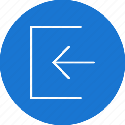 account, direction, shape, sign in icon