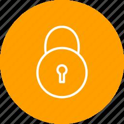 lock, locked, pad lock icon