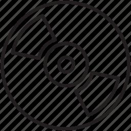 cd, disk, dvd, multimedia icon