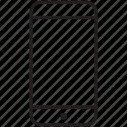 mobile, multimedia icon