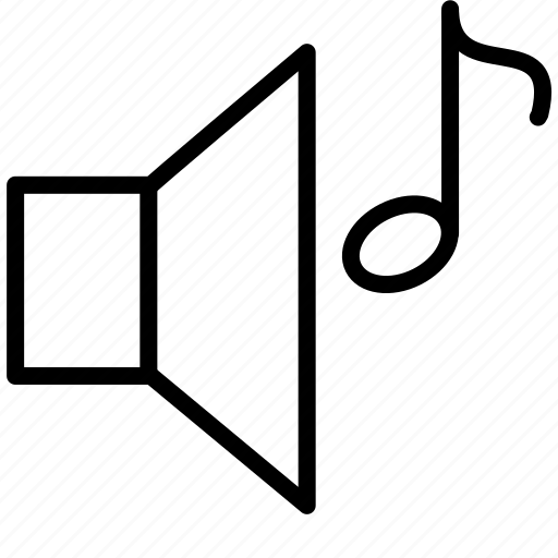 audio, media, midi player, multimedia, music, note, play, sound, volume icon
