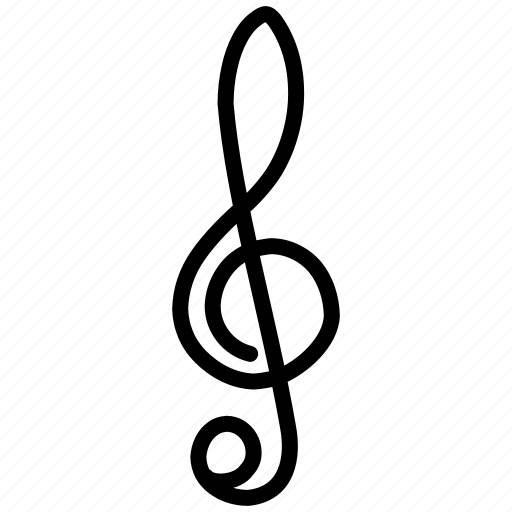 arts, audio, cda, clef, label, midi, mp3, music, musical, musical notation, notation, player, sopa, sound, treble, wav, wave icon