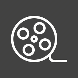 film, filmstrip, negative, recording, reel, roll, video icon
