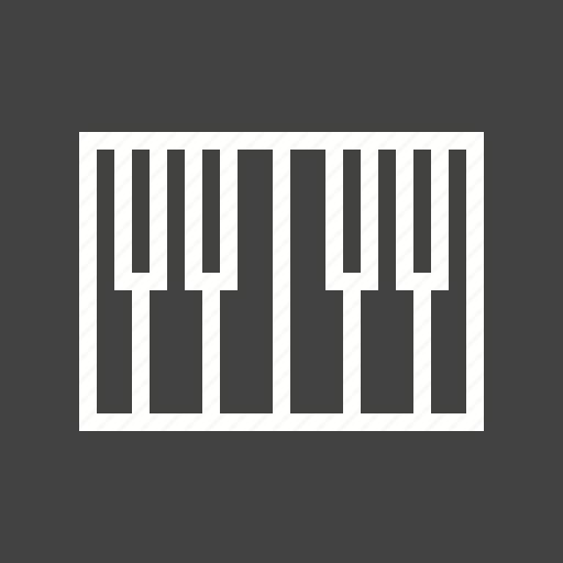 instrument, keyboard, music, piano, play, rhythm, sound icon