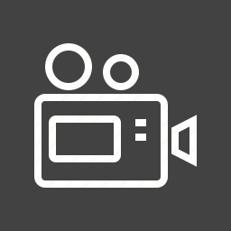 camera, digital, film, lens, photo, recording, video icon